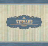 Retro vintage background — Stock Vector