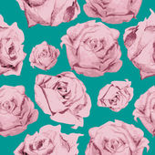 Color rose pattern — Wektor stockowy
