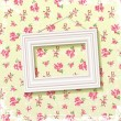 Frame on floral background — Stock Vector #19780421