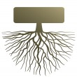 Concept with tree root — Stock Vector #21704925