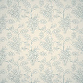 Floral ornamental pattern — Cтоковый вектор