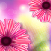 Floral background — Vettoriale Stock