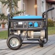 Stock Photo: Portable electric generator.