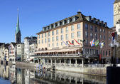 Zurich Old Town — Stock Photo