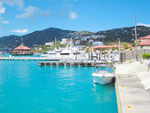 St thomas pier — Stock Photo