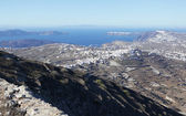 Santorini scinic view — Stock Photo