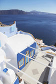 Blue dream house in Oia — Stock Photo