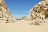 Lovers beach Cabo San Lucas — Stock Photo