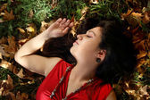 Autumn dreames — Stock Photo