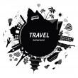 Travel background. - Stock Vector