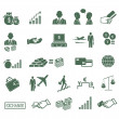 Finance , banking & business icons set. — Stock Vector #30590029