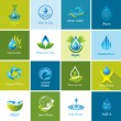 Set of vector Water icons 2.  — Stock Vector