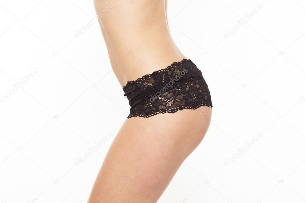 Sexy woman in lingerie on white isolated background — Stock Photo #15294523