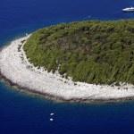 Bay on island Hvar — Stock Photo