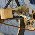 Improvised pedal — Stock Photo