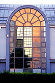 Mirror window — Stockfoto