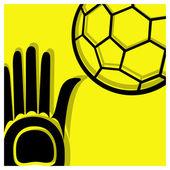 Handball pictogram — Stock Vector