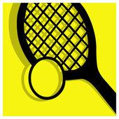 Tennis pictogram — Stockvector