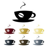 Coffee cup logo — Stock Vector