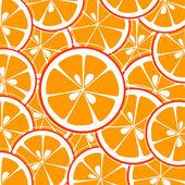 Plastry pomarańczowe tło — Wektor stockowy