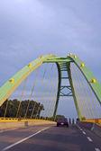 Zelený most — Stock fotografie