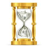 Concepto de tiempo y dinero — Vector de stock