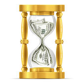 Time And Money Concept — Vettoriale Stock