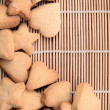 Royalty-Free Stock Photo: Cookie in the form of hearts and stars