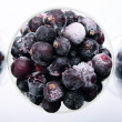 Stock Photo: Frozen berries
