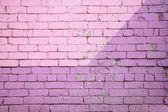 Purple brick wall — Stock Photo