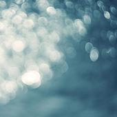 Lights on blue background. — Stock Photo