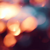 Abstract background with bokeh — Stock Photo