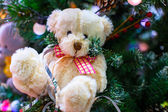 Oso de peluche de navidad — Foto de Stock