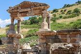 Fountain of Trajan in Ephesus — Stock Photo