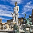 Stock Photo: Florence Fountain of Neptune