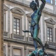 Florence Cellini sculpture of Perseus - Stock Photo