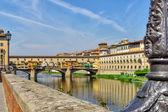 Ponte d'oro di firenze — Foto Stock