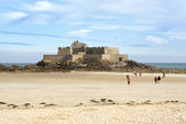 Fort National in Saint-Malo — Foto Stock