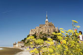 Mont Saint-Michel — Foto de Stock