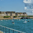 Stock Photo: Bay of Saint-Malo, France