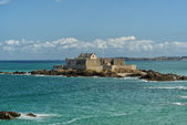 Fort National in Saint-Malo — 图库照片