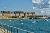 Bay of Saint-Malo, France — 图库照片