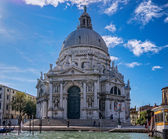 Basilica of Santa Maria della Salute in Venice — Stock Photo