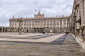 Palazzo reale di madrid — Foto Stock