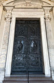 Rome. Vatican. Cathedral of St. Peter, Paul's door — Stock Photo