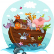 Noah's Ark — Stock Vector #12638757