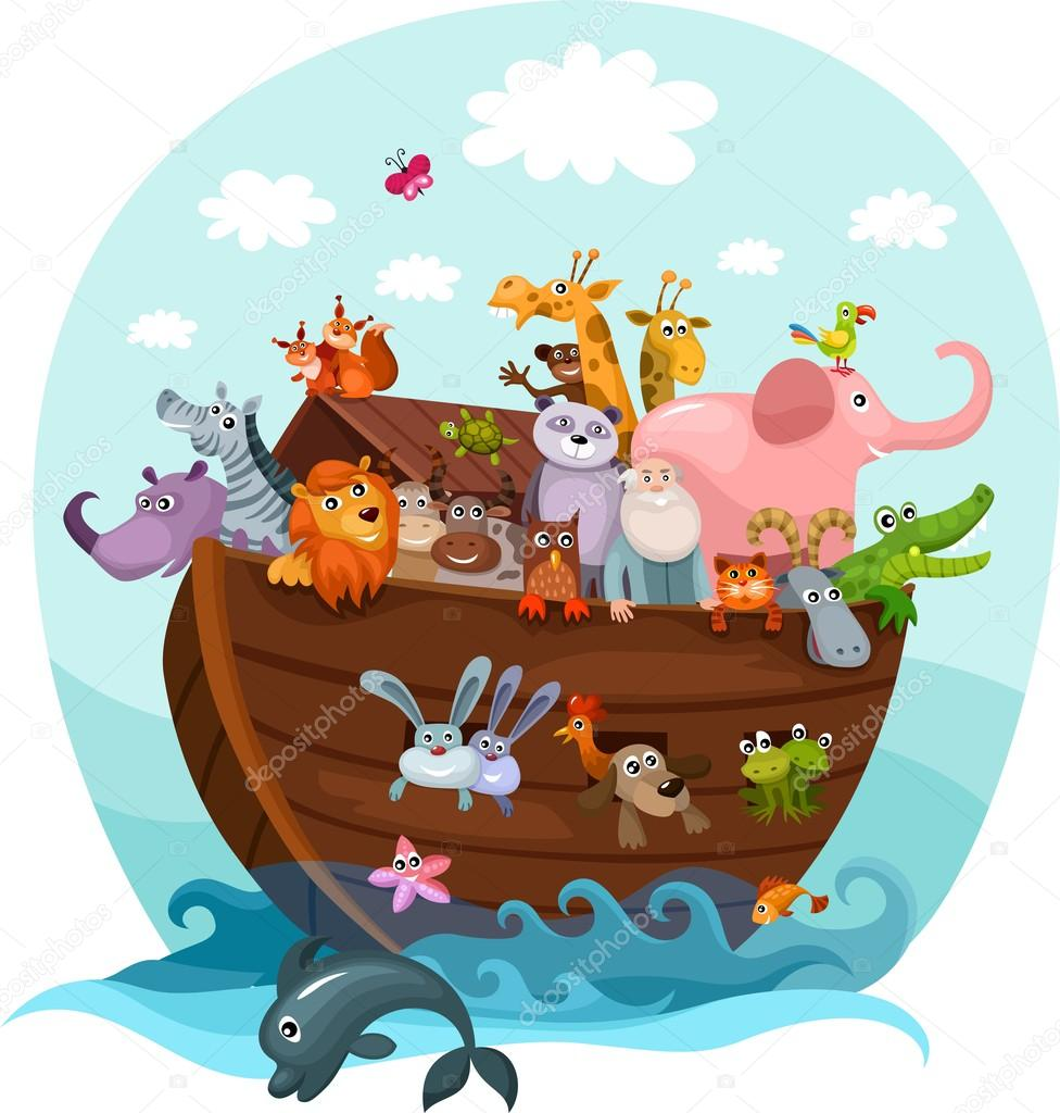 Vector illustration of a Noah's Ark — Stock Vector #12638757