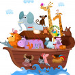 Noah's Ark — Stock Vector #12869366
