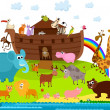 Noah's Ark — Stock Vector #13314693