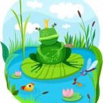 Frog.. — Stock Vector #13624888